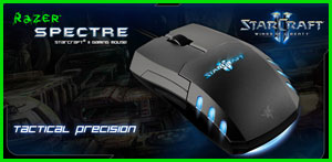 Review : Razer Spectre Starcraft 2 Gaming Mouse